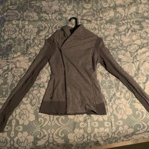 Lululemon wrap zip up sweat jacket